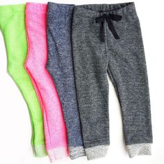 Heathered Terry Joggers