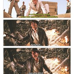 Indiana Jones Love this Scene!! Haha