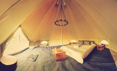 There are a lot of choices when you want to go to a romantic camping. If you like glamping, bell Read more. Camping Canopy, Tent Camping, Camping Gear, Outdoor Camping, Backpacking, Romantic Camping, Camping Toilet, Affordable Vacations, Cool Tents