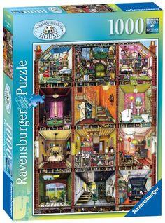 WISHLIST - Amazon.com: Ravensburger Higgledy Piggledy House 1000 Piece Puzzle: Toys & Games