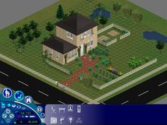 Sims Games, Sims Ideas, Sims 1, Mansions, House Styles, Manor Houses, Villas, Mansion, Palaces
