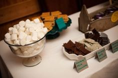 ask Curtis if set-up will be similar to this? Have diff. kinds chocolate/candy bars