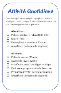 Un piano di pulizie per la donna che lavora (full time) Budget Planner, Weekly Planner, Flylady, Desperate Housewives, Home Hacks, Home Organization, Declutter, Housekeeping, Home Remedies