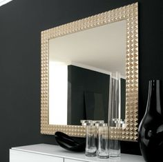 Big Wall Mirrors Huge Design Potential : Big Wall Mirrors For Cheap. Big wall mirrors for cheap. Decorative Bathroom Mirrors, Cheap Wall Mirrors, Bathroom Mirror Design, Small Bathroom, Bathroom Wall, Unique Mirrors, Beautiful Mirrors, White Bathroom, Bathroom Ideas