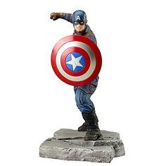 Kotobukiya KMK212 1:10 Scale Captain America Civil War Artfx Plus Statue