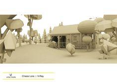 https://flic.kr/p/rDadBE | Chaos Lore ::: V-Ray | Diseñado con SketchUp, 3D Studio Max, VRay y Adobe Photoshop.