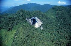 panorama: Caverna no interior de SP tem a maior boca do mund...