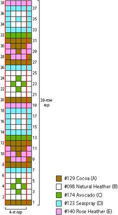 Free Knitting Pattern L20352 Tablet (iPad) Fair Isle Tech Vest : Lion Brand Yarn Company