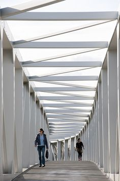 Gallery of Hausbergen Footbridge / Wienstroer Architekten Stadtplaner - 5