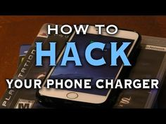 How To Hack Your Phone Charger - YouTube