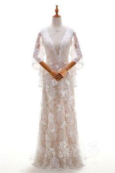 Cocomelody Wedding Dresses Sheath-Column LD4319#cocomelody #weddingdress