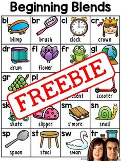 This downloads in English only. It includes two versions of a cute beginning blends chart. There are many ways you can use them. The color version works great as a laminated chart for student folders or as a reference chart at centers.. The blackline version works well as a student reference chart, coloring sheet, or can be sent home for extra practice or to be used as a homework support tool.