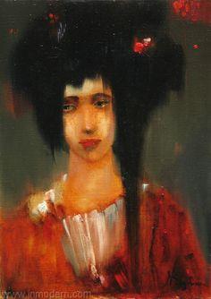 Portrait by Nina Reznichenko www.INMODERN.com