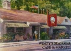 Wimpy's, Osterville, MA. Great food!