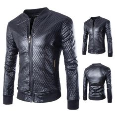Men Motorcycle Suede Leather Jacket - Anthony's Emporium