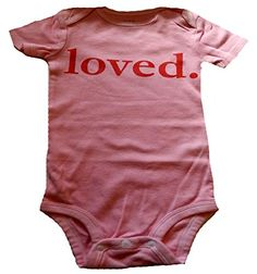 """Custom Kingdom Baby Girls """"Loved"""" Valentine's Day Romper Bodysuit Pink   Perfect outfit for babys first Valentines Day! Printed in the USA, 100% cotton and machine washable. Read  more http://shopkids.ca/kids-girl/custom-kingdom-baby-girls-loved-valentines-day-romper-bodysuit-pink  Visit http://shopkids.ca to find more categories on kid review"""