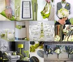 dark gray and green wedding - Bing Images