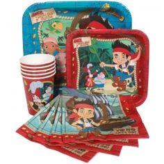 Jake and the Never Land Pirates Express Party Package for 8
