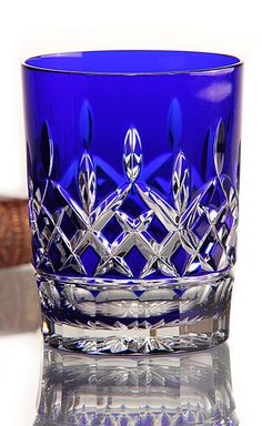 Waterford Cut-to-clear Double Old Fashioned Glasses