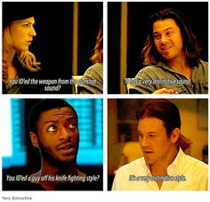 Leverage 1x02 The Homecoming Job [gifset] - Very distinctive - Parker, Eliot Spencer, Alec Hardison