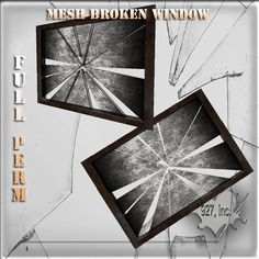 Mesh Broken Window 1 impact Full  perm