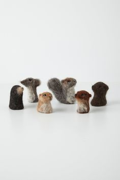 Woolen Finger Puppets - anthropologie.com