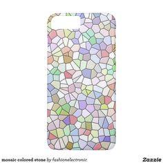 mosaic colored stone iPhone 7 plus case