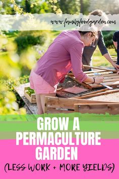 How to grow a permaculture garden with less work and more yields? This pin will discuss some of the following permaculture garden principles which will help you reduce the time and energy you put into growing your garden. #permaculturegarden #permaculture #gardening Permaculture Garden, Permaculture Design, Container Gardening, Gardening Tips, Indoor Gardening, Vegetable Gardening, Healthy Fruits And Vegetables, Herb Planters, Garden Inspiration