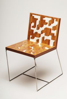 Sculptural Chairs Inspired by Art by Benjamin Nordsmark in home furnishings art Category