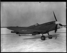 Spitfire, Rockcliffe, Ont., 24 February 1944