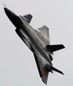Amazing shots of the J-20 Mighty Dragon fifth generation fighter jet while it was displaying its maneuverability on 27th February, 201...