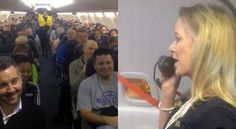 I'm Glad Someone Had A Video Camera To Catch This... Just Watch What The Stewardess Does!