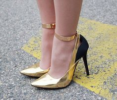 Love these ankle cuffs to add to any heels.