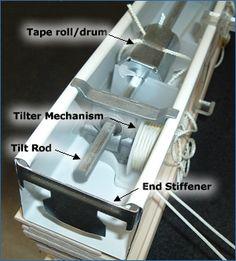 Two Inch Horizontal Blind Parts Diagram Blind Repair
