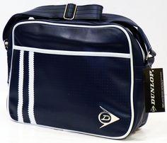 Racing Stripe DUNLOP Retro Mod Perf Shoulder Bag  38128e5bd7db3