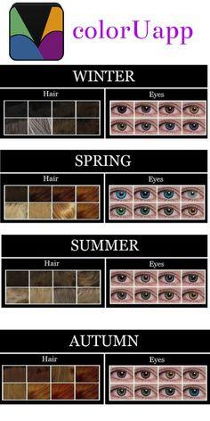 Working of #seasonalcoloranalysis: Each person has dominant characteristics like…