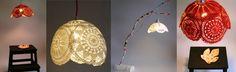 Suspension Dentelles, Collection Objets Trouvés, web shop :http://www.boutiqueobjetstrouves.fr/objets-pour-%C3%A9clairer/suspensions-dentelles/ lampe,   Suspensions luminaires designs - boutique objets trouves