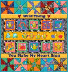 Wild Things: Quilt Pattern (FREE DOWNLOAD)