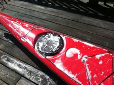 Scrub-a-dub-dub a dirty kayak in a tub. Tips on how to keep a kayak looking good. Avoid microbial transference.