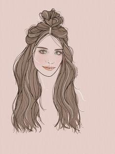 Portrait fashion illustration of Eva Di Dominici by verusveteris Fashion Illustrations, Fashion Sketches, Female, Portrait, My Style, Art, Art Background, Fashion Sketchbook, Kunst