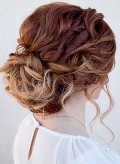 Hair Color Ideas for Updo Hairstyles 2017