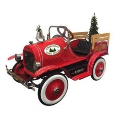 Dexton Christmas Tree Delivery Truck - Red - DX-22233
