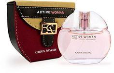 HOT Active Woman - Pour Femme Eau De Parfum (for Women) by Chris Adams Perfumes - Platinum Collection - http://www.theperfume.org/hot-active-woman-pour-femme-eau-de-parfum-for-women-by-chris-adams-perfumes-platinum-collection/