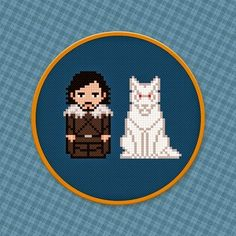 Nerd Antenada: Ponto Cruz de Game of Thrones