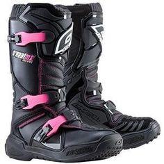 e62b8da5c313f Amazon.com  O NEAL WOMENS RIDER MOTORCYCLE BOOT pink black  Automotive