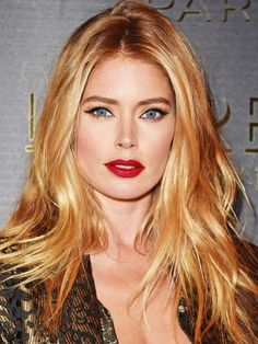 Pretty Eyes, Beautiful Eyes, Blonde Beauty, Hair Beauty, Honey Brown Hair, Gorgeous Hair Color, Provocateur, Doutzen Kroes, Sensual