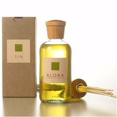 Alora Ambiance Home Fragrance Reed Diffuser - Tre 16oz by Alora. $80.00. Lasts 4-6 months. Orange, mandarin, vanilla and amber.   The 16 oz. bottle with sticks measures approximately 17 inches tall and lasts 4-6 months    As effective a centerpiece as it is an air freshener, the Alora Ambiance diffuser truly is a one of a kind product and makes a perfect gift. Its exquisite design and attention to detail attest to its Italian origins while its wicking device, a deceptively...