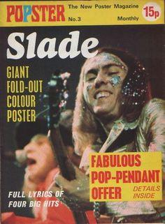 SLADE - POPSTER POSTER MAGAZINE 1974