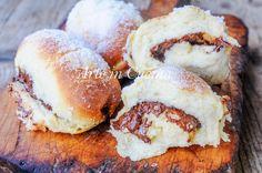 Cannoli di brioche alla nutella sofficissimi vickyart arte in cucina