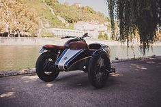 BAAK Motocyclettes: сайдкар Triumph Bonneville T100 Black